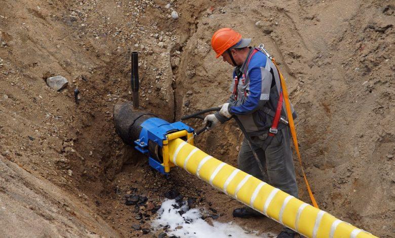 бестраншейная замена трубопровода