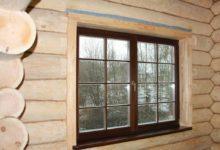 Photo of Пластиковые окна в деревянном доме своими руками